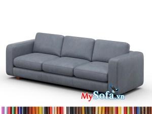 MyS-1912846 Mẫu ghế sofa văng da đẹp