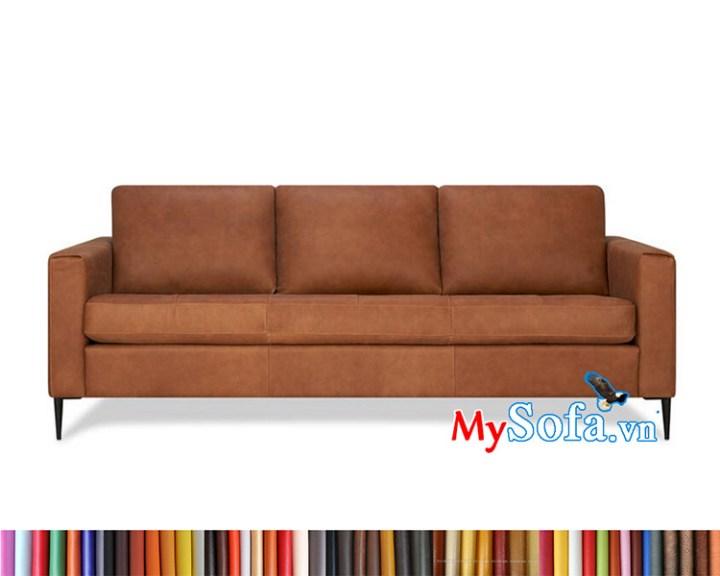ghế sofa da màu da bò MyS-1912431