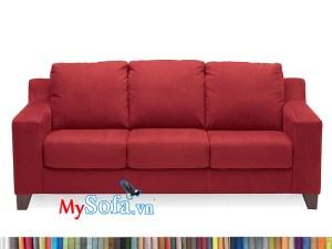 Ghế sofa nỉ đỏ MyS-1912395