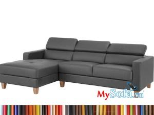 MyS-2001761 Sofa da góc hiện đại