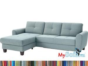 MyS-2001875 Mẫu sofa nỉ góc đẹp