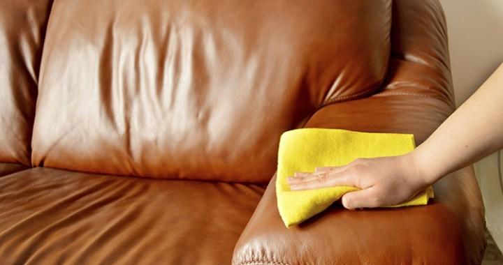 Hình ảnh Vệ sinh ghế sofa bằng khăn mềm là hợp lý