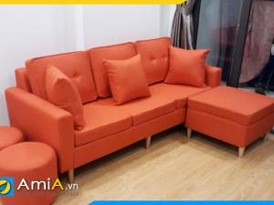ghe sofa vang nho gon mini amia sfn3720