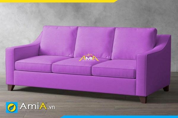 sofa phong khach nho mau tim amia sfn20129