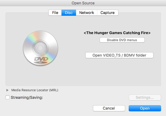 select dvd disc mac