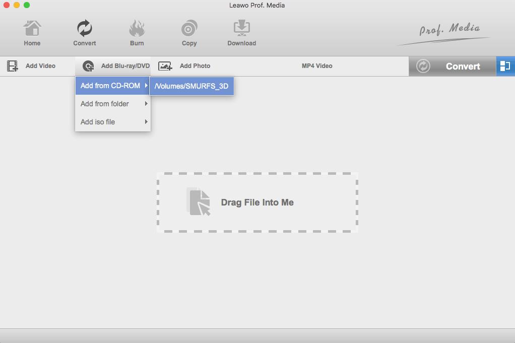 Load Bluray DVD Mac