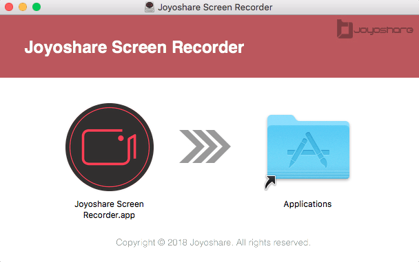 Install Joyoshare Screen Recorder Mac
