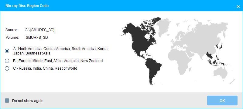 Bluray Region