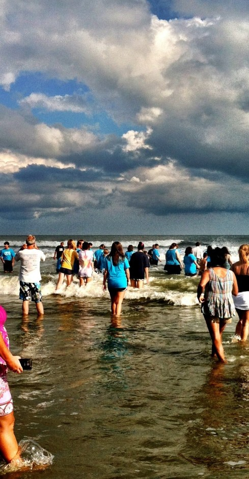 Baptism at IOP