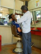 Calicut / Kozhikode barbier - © ChPL / jan 2014