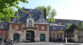 Hôpital St-Louis côté rue Bichat (entrée originelle) - Paris 10e