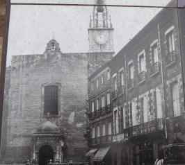 Perpignan, l'église Saint-Jean avant rénovation
