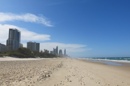 Where the city meets the sea @ Broadbeach, QLD