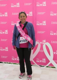 "I obviously don't know how to ""Work It"" - even with my pink sash ... :("