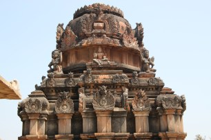 The top of the gopuram.