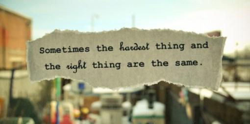 hard thing image