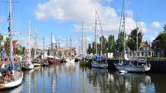 Harlingen most beautiful city of Friesland