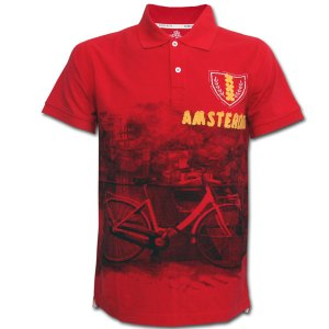 Robin Ruth Polo - Amsterdam Bicycle Red