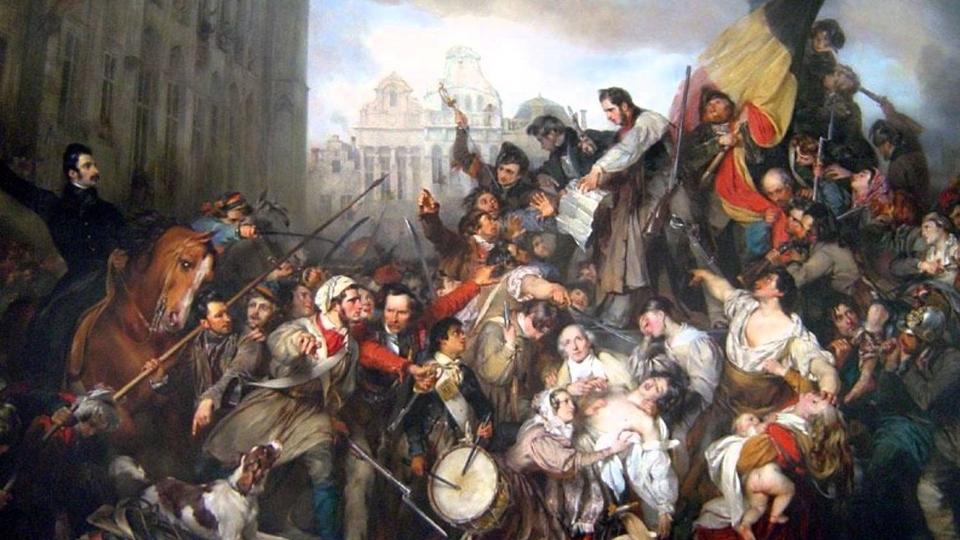 Belgian uprising in 1830