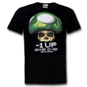 1UP Game Over Amsterdam T-shirt
