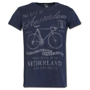 Amsterdam Bike Chalk T-shirt