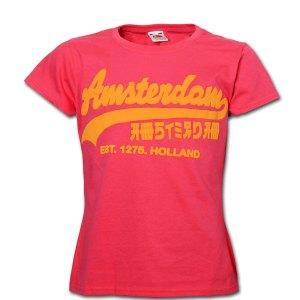 Nik Nak Design Kids T-shirt - Chinatown Pink