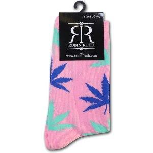 Wiet Sokken Dames Roze / Blauw