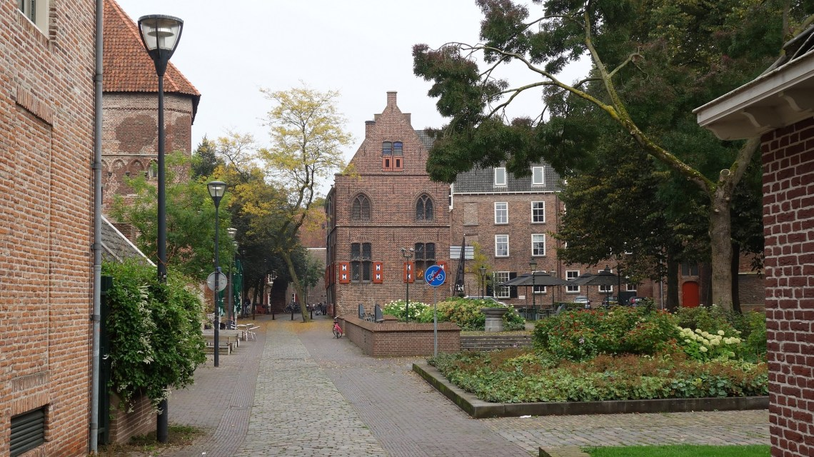 City entrance monument in Zwolle