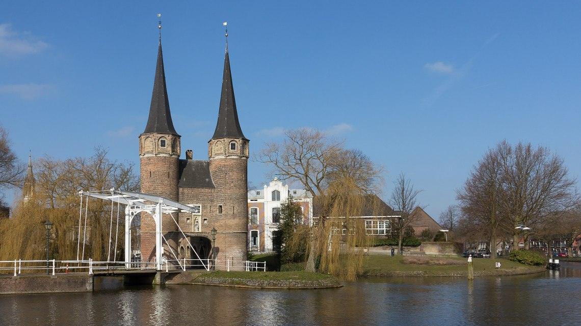 Delft the most beautiful city in South Holland