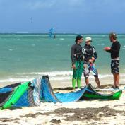 Обучению кайту на Маврикии