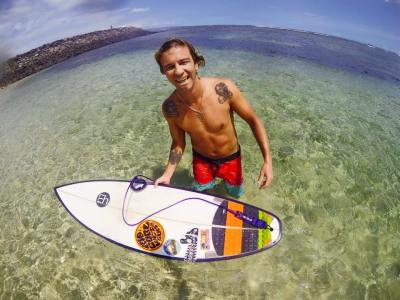 Зимние серфинг каникулы на острове Бали