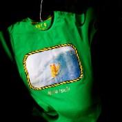 Дизайнерская одежда для серфинга. Футболка KOT$. Фронт