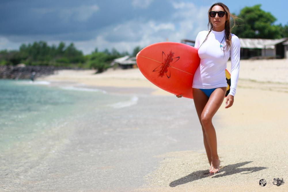 Дизайнерская лайкра для серфинга. Женская модель Bambina