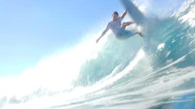 Свэлл — новое серфинг видео С. Мысовского со спота Anker на Маврикии