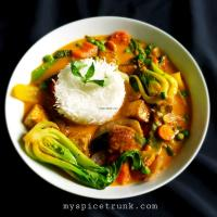 Veg Thai Panang Curry
