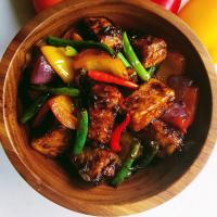 Mongolian Tofu Stir Fry