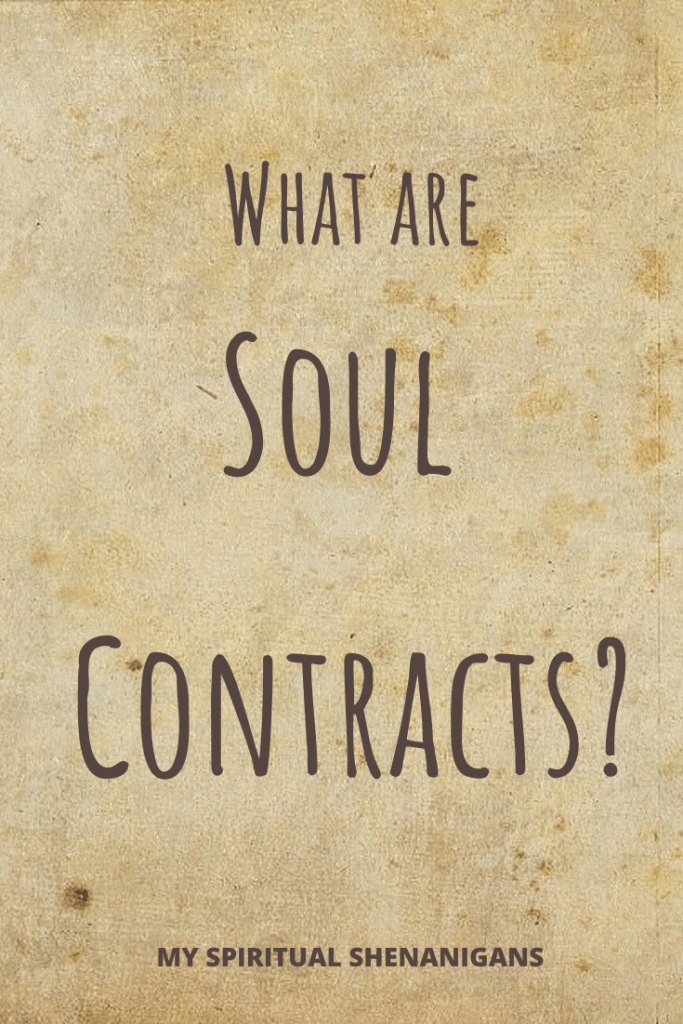 What are soul contracts?