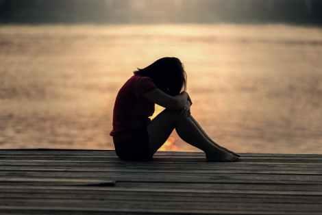 sad, upset, lonely, ego work, ego mind, emotions, beach, sunset, spiritual life