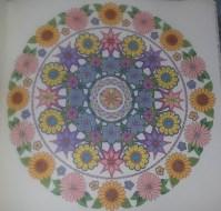 floral mandela