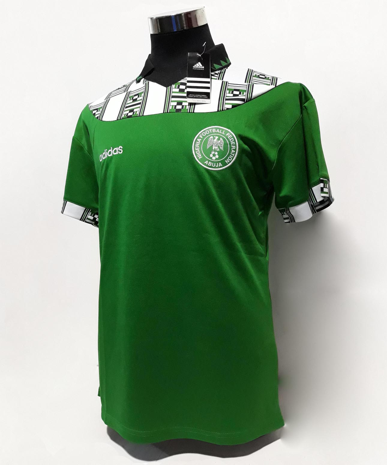 9c6747f5c7 Nigeria1994 World Cup Away Jersey. Nigeria1994 ...