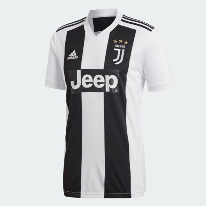 Juventus FC 2018 19 Home Jersey - CR7  45d72fa20f50