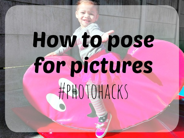 How to pose for pictures