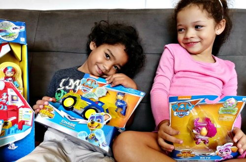 Teaching togetherness with Paw Patrol