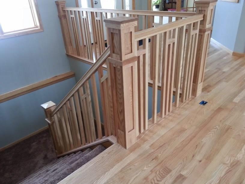 Frank Lloyd Wright Style Railing Mystairways   Frank Lloyd Wright Stairs   Basement   Dorm   Design   Obras   Floor Plan