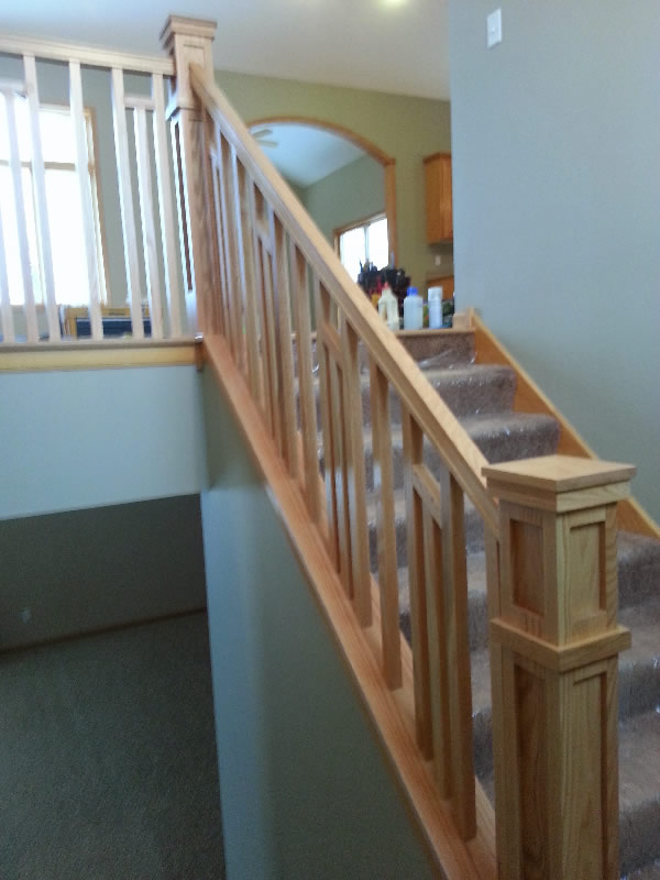 Frank Lloyd Wright Style Railing Mystairways