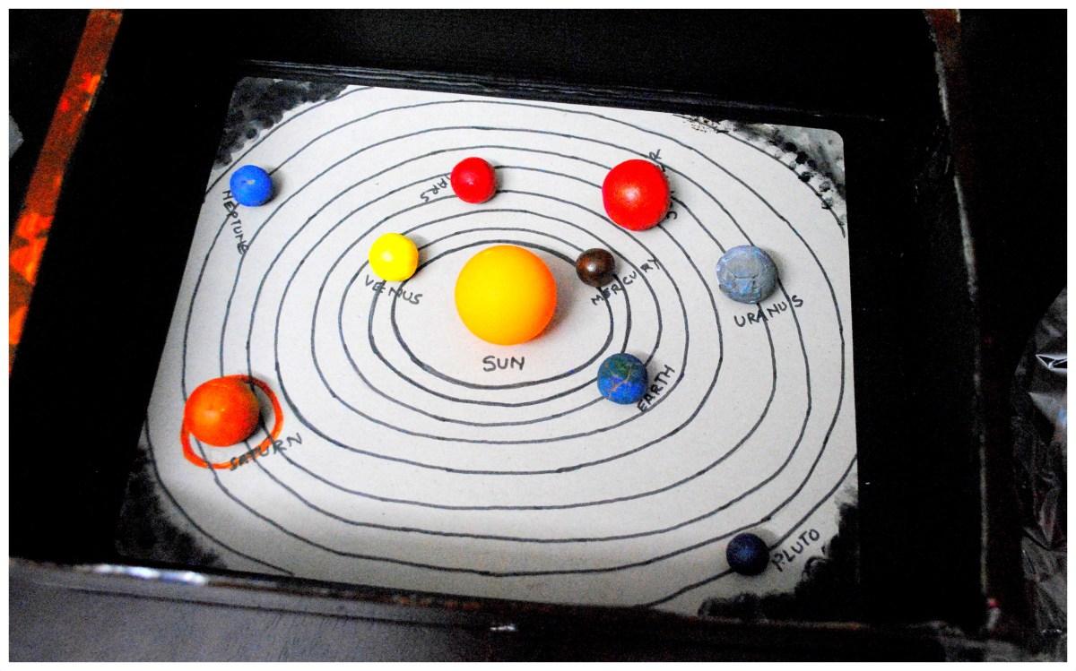 DIY Solar System Model mystartupkitchen