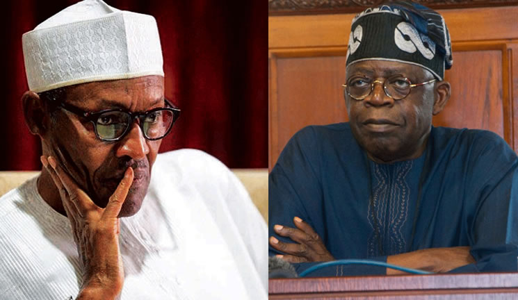 Buhari and Tinubu in cold War