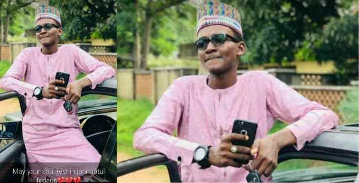 First Class Student Dies After His Graduation