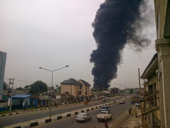 Five Injured As Explosion Rocks Port Harcourt