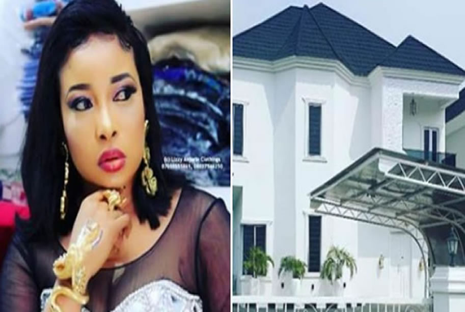 Liz Anjorin Shows Off Her Newly Built House